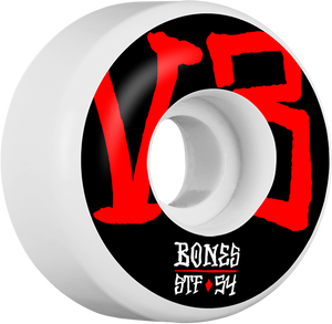 BONES STF V3 ANNUALS BOLD 54mm WHITE