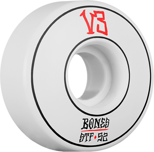 BONES STF V3 ANNUALS PIN SLIM 52mm WHT