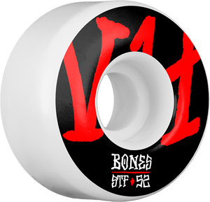 BONES STF V4 ANNUALS BOLD 52mm WHITE