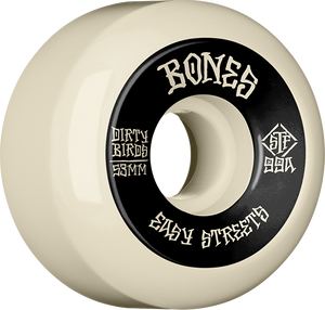 BONES STF V5 EASY STREETS DIRTY BIRDS 53mm WHT/BLK