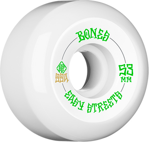 BONES STF V5 EASY STREETS 53mm WHITE/GRN