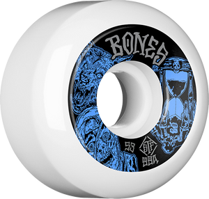 BONES STF V5 EASY STREETS TIME BEASTS 53mm WHT