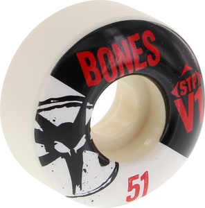 BONES STF SKINNY V1 SERIES 51mm WHITE