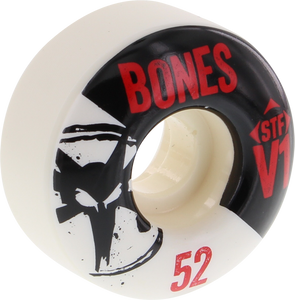BONES STF SKINNY V1 SERIES 52mm WHITE