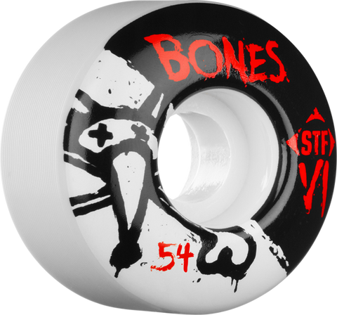 BONES STF SKINNY V1 SERIES 54mm WHITE