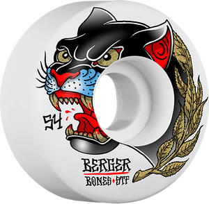 BONES BERGER STF PANTHER 54mm WHT