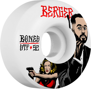 BONES BERGER STF SPY 52mm WHITE