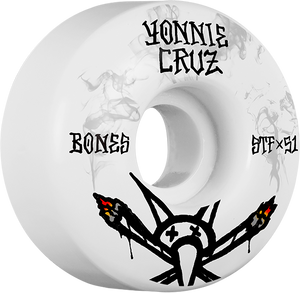 BONES CRUZ STF V2 VATO JOINT 51mm WHITE/BLK
