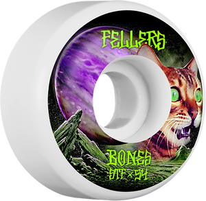 BONES FELLERS STF V3 GALAXY CAT 54mm WHITE