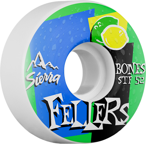 BONES FELLERS STF MIST 52mm WHITE