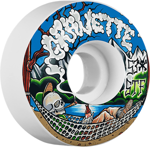 BONES GRAVETTE STF OUTDOORSMAN 53mm WHT