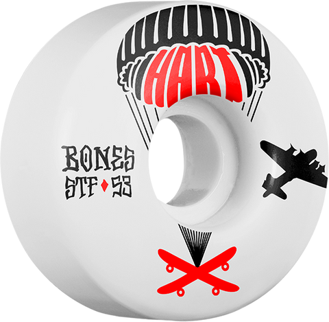 BONES HART STF DROP 53mm WHITE
