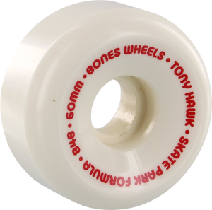 BONES HAWK SPF MINI CUBE 60mm WHT/RED