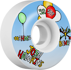 BONES HAWKINS STF HAPPY 52mm