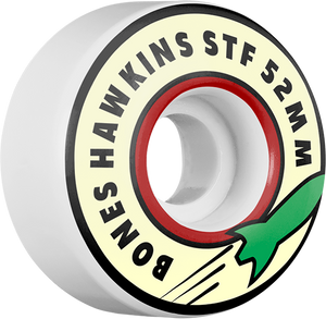 BONES HAWKINS STF ROCKET 52mm WHITE