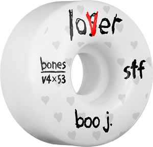 BONES JOHNSON STF V4 LOVER 53mm WHITE