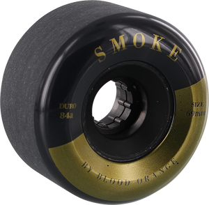 BLOOD ORANGE SMOKE 68mm 82a BLK/GOLD