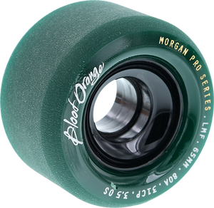 BLOOD ORANGE MORGAN 65mm 80a MIDNIGHT GREEN