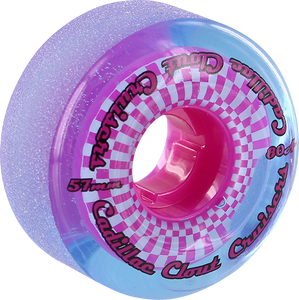 CADILLAC WHEELS CLOUT CRUISERS 57mm 80a BLU/PINK