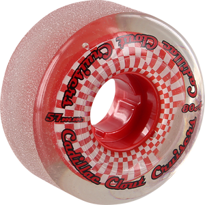 CADILLAC WHEELS CLOUT CRUISERS 57mm 80a SMOKE/RED