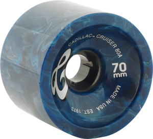 CADILLAC WHEELS CRUISER 70mm BLUE MARBLE