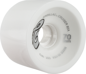 CADILLAC CRUZERS 70mm WHITE