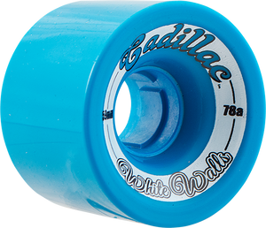CADILLAC WHITE WALLS 59mm 78a BLUE