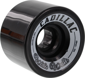 CADILLAC WHITE WALLS 59mm 78a BLACK