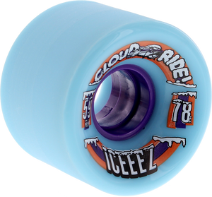 CLOUD RIDE! ICEEEZE 59mm 78a LT.BLUE