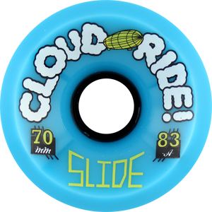 CLOUD RIDE! SLIDE 70mm 83a CYAN