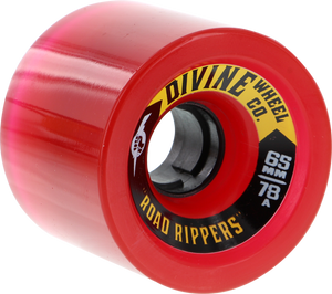 DIVINE ROAD RIPPERS 65mm 78a TRANS.RED