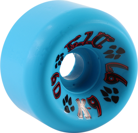 DOGTOWN K-9 60mm 97a BLUE