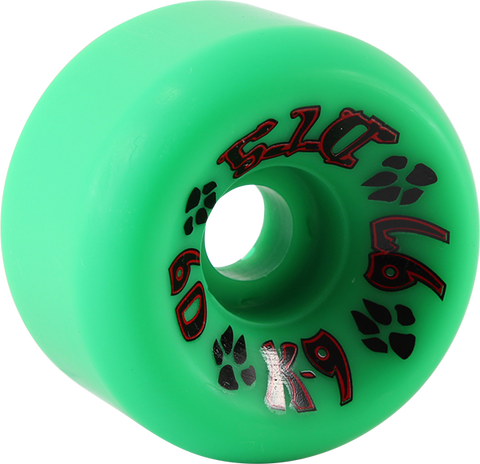 DOGTOWN K-9 60mm 97a GREEN