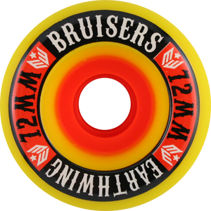 EARTHWING SUPERBALLS BRUISER 72mm 87a YELLOW