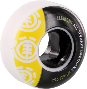 EL SECTION 50mm WHT BLK/YEL 95a at ppp