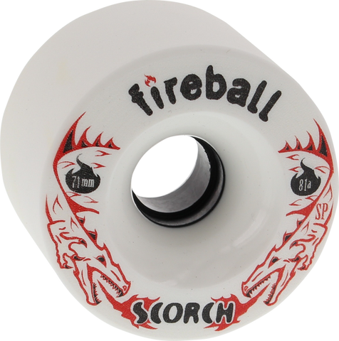 FIREBALL SCORCH 71mm 81a WHITE
