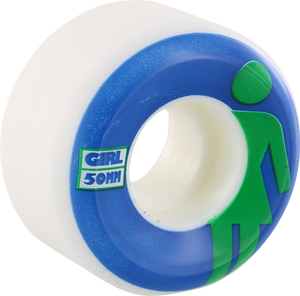 GIRL CLASSIC OG CONICAL 50mm WHT/BLU/GRN