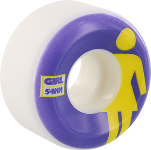GIRL CLASSIC OG CONICAL 54mm WHT/PUR/YEL