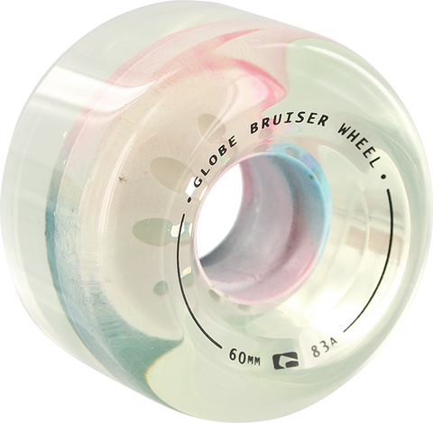 GLOBE BRUISER 60mm 83a CLEAR/COLORCOMB