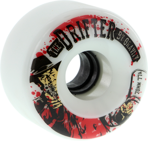 GRAVITY DRIFTER 77a 70mm ICE WHITE