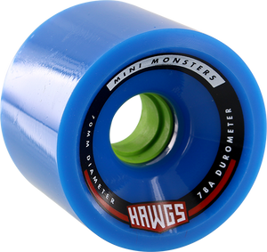 HAWGS MINI MONSTER 78a 70mm BLUE
