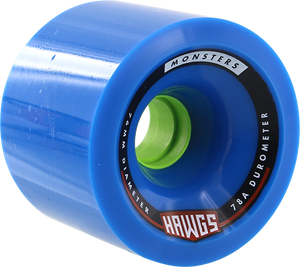 HAWGS MONSTER 78a 76mm BLUE