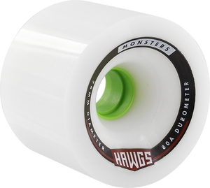 HAWGS MONSTER 80a 76mm WHITE
