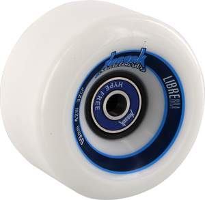 KEBBEK LIBRE 69mm 80a WHITE W/NO HYPE BEARINGS