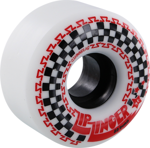 KROOKED ZIP ZINGER 56mm 80a WHT/BLK/RED