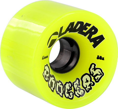 LADERA SKATEBOARDS BOOGERS 63mm 80a YELLOW