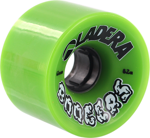 LADERA SKATEBOARDS BOOGERS 63mm 82a GREEN