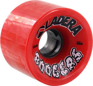 LADERA SKATEBOARDS BOOGERS 63mm 78a RED