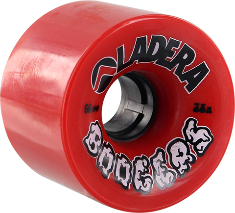 LADERA SKATEBOARDS BOOGERS 66mm 78a RED