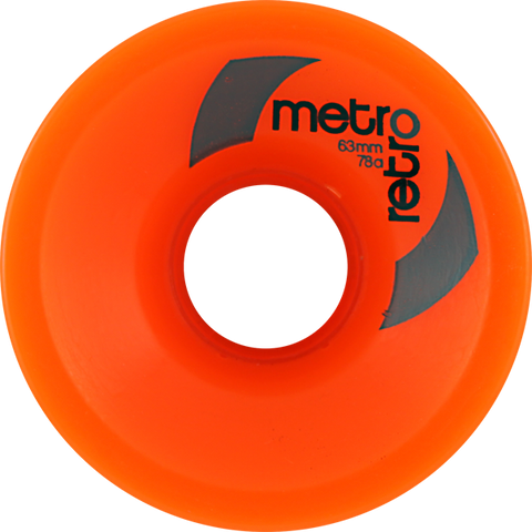 METRO RETRO FREERIDE 63mm 78a ORANGE